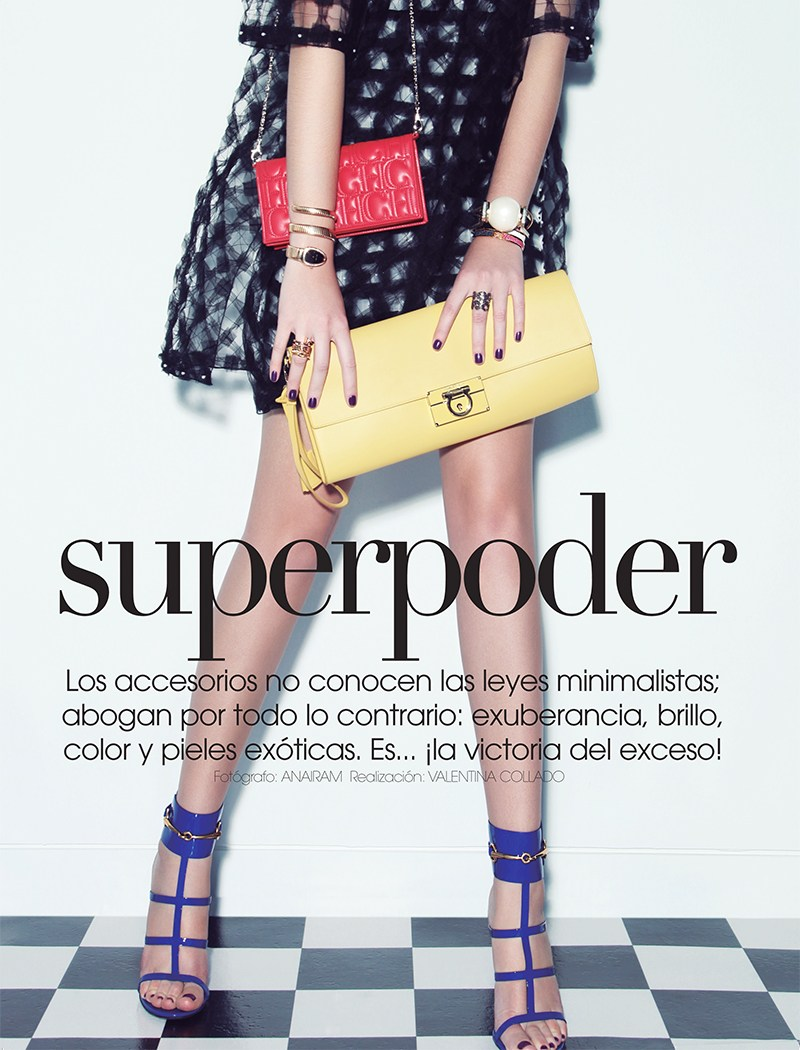 VogueMexicoShoot1 Carina Sports Spring Accessories for Vogue Latin America April 2013 by Anairam