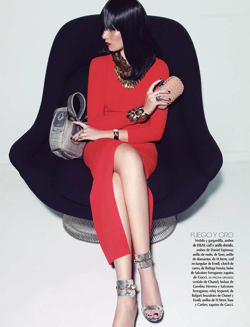 VogueMexicoShoot2 Carina Sports Spring Accessories for Vogue Latin America April 2013 by Anairam