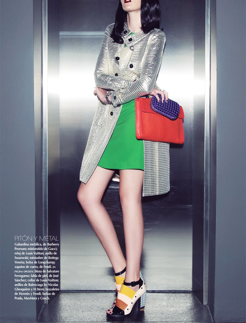 VogueMexicoShoot3 Carina Sports Spring Accessories for Vogue Latin America April 2013 by Anairam