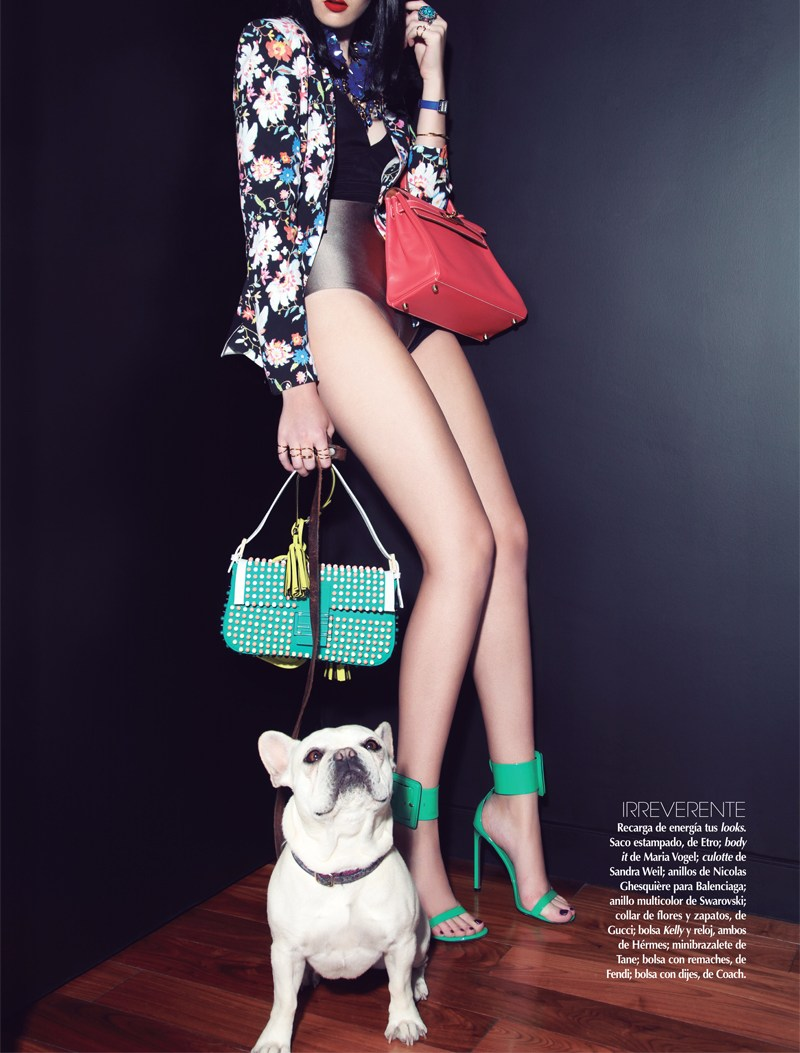 VogueMexicoShoot6 Carina Sports Spring Accessories for Vogue Latin America April 2013 by Anairam