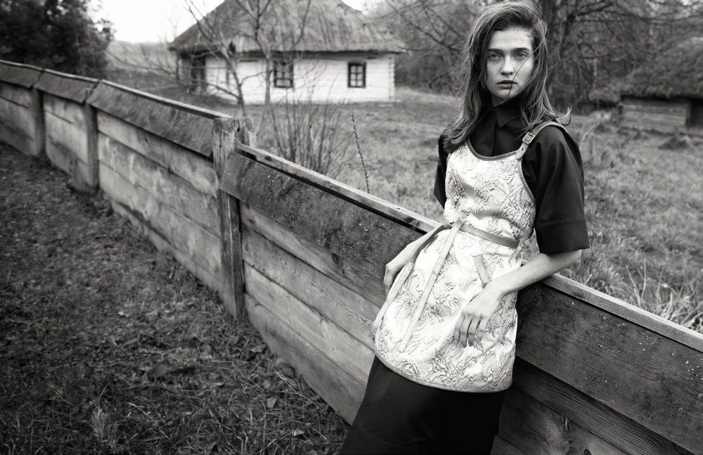VogueUkraineYelenaYemchuk6 Yelena Yemchuk Captures Homegrown Beauties for Vogue Ukraine March 2013