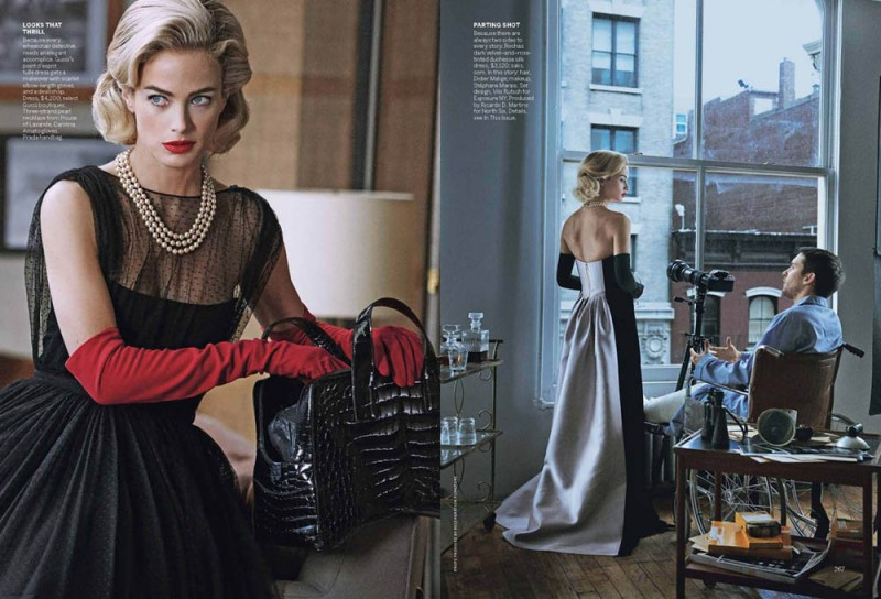 Vogue Apr13 WindowDressing Page 6 800x544 Carolyn Murphy and Tobey Maguire Pose for Peter Lindbergh in Vogue US April 2013
