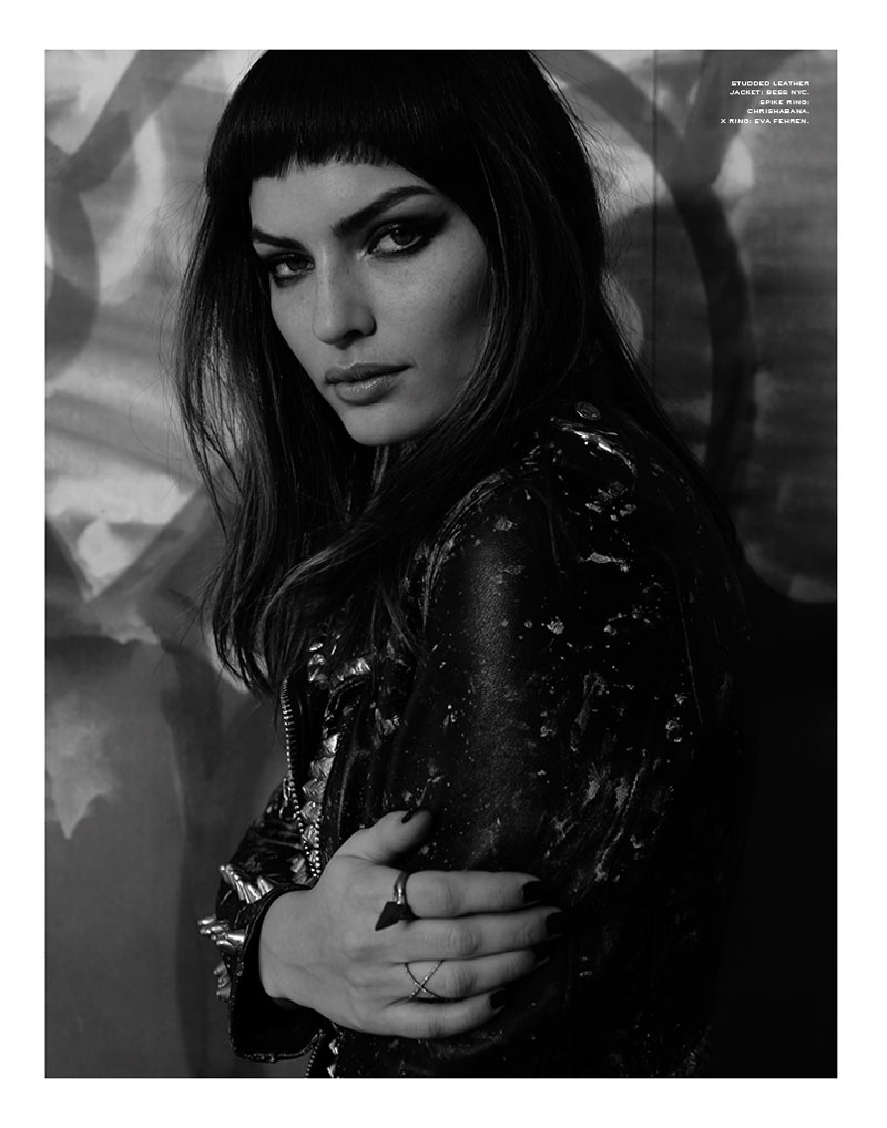 alyssa miller fit for print7 Alyssa Miller is a Quiet Rebel for Herring & Herrings Fit for Print