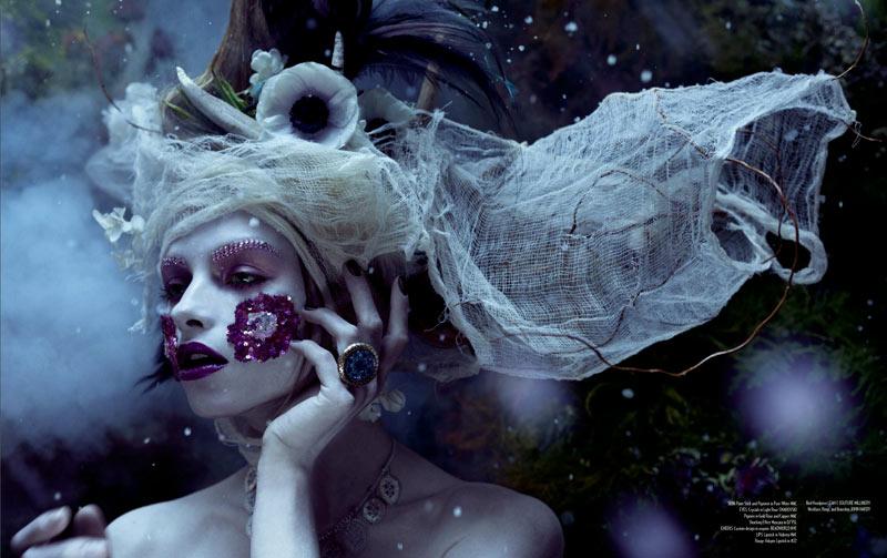 Amber Gray Captures Dark Beauty for Relapse Magazine