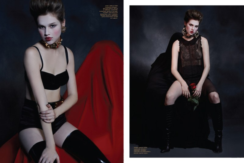 anais pouliot ffp2 Anais Pouliot is Gothic Glam for Herring & Herrings Fit for Print