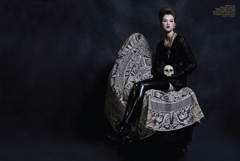 anais pouliot ffp3 Anais Pouliot is Gothic Glam for Herring & Herrings Fit for Print