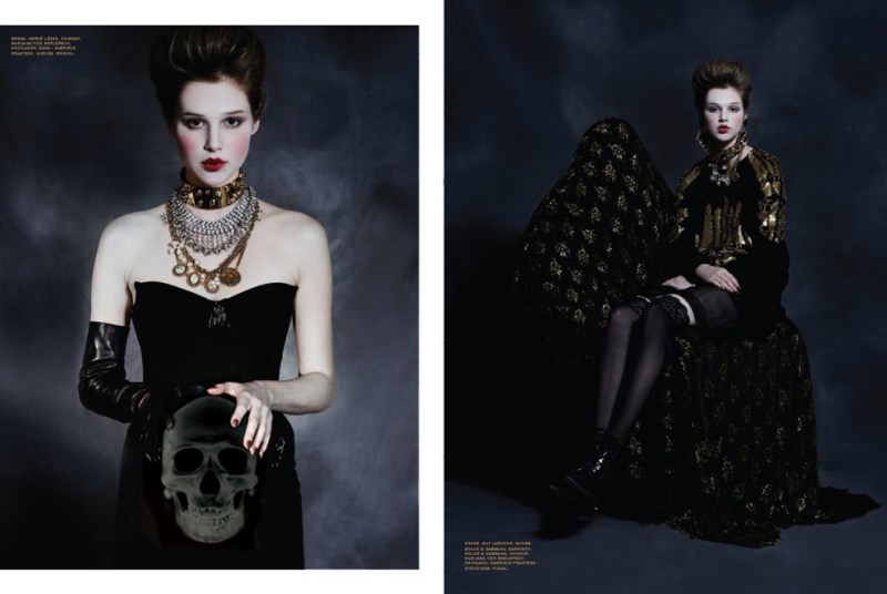 anais pouliot ffp5 Anais Pouliot is Gothic Glam for Herring & Herrings Fit for Print