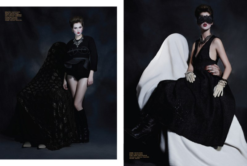 Anais Pouliot is Gothic Glam for Herring & Herring's Fit for Print