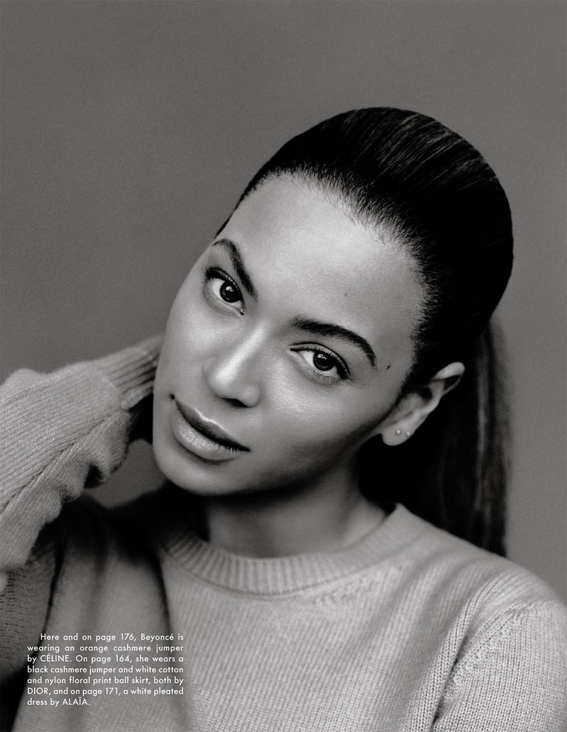 beyonce11 Beyonce Poses for Alasdair McLellan in The Gentlewoman S/S 2013