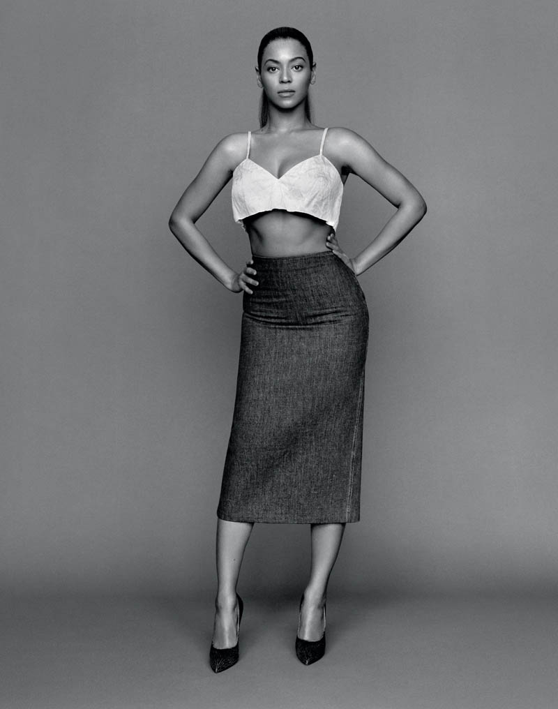 beyonce2 Beyonce Poses for Alasdair McLellan in The Gentlewoman S/S 2013