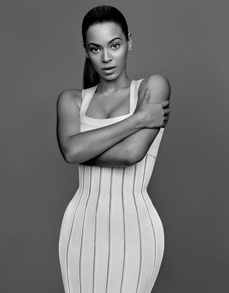 beyonce4 Beyonce Poses for Alasdair McLellan in The Gentlewoman S/S 2013