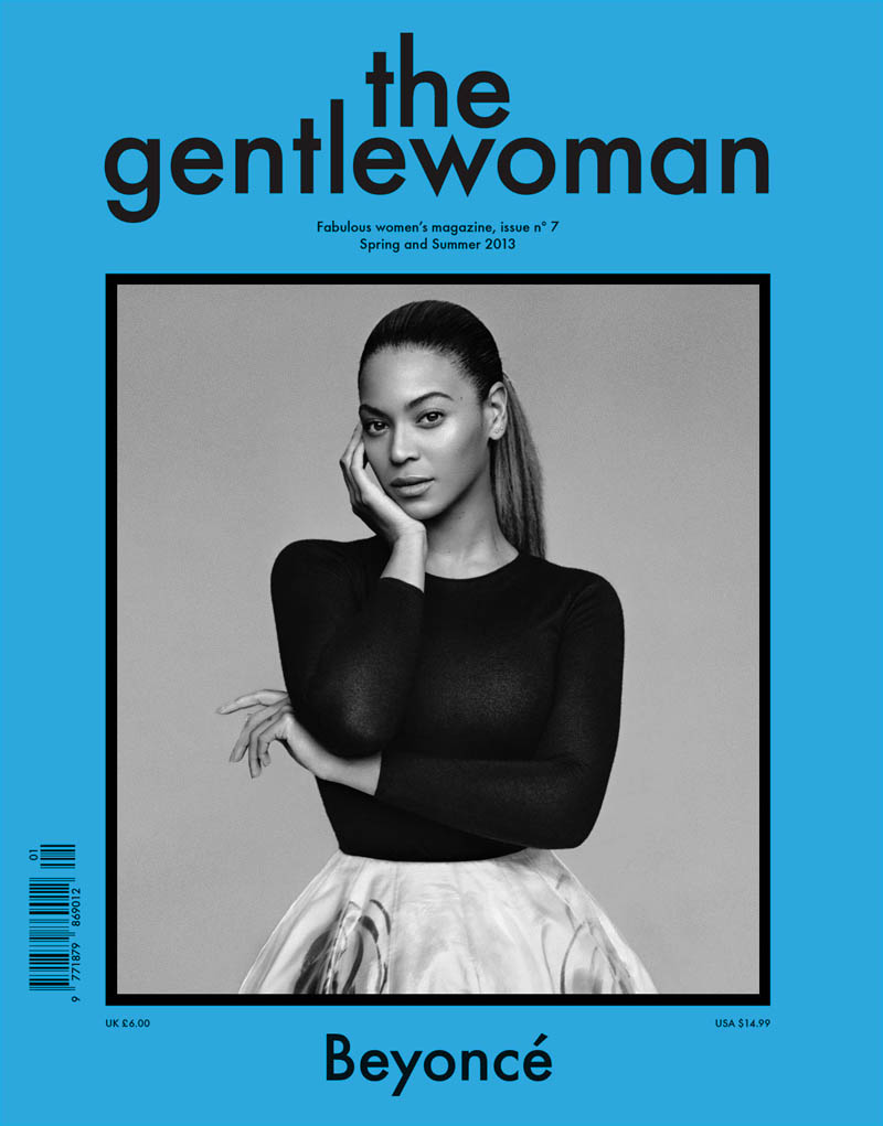 beyoncemag Beyonce Poses for Alasdair McLellan in The Gentlewoman S/S 2013