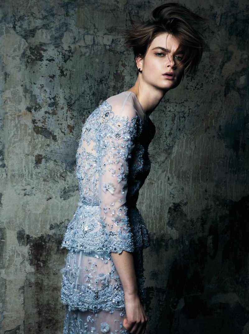 bo don bazaar turkey gianluca fontana3 Bo Don is Couture Grunge for Harpers Bazaar Turkey March 2013 by Gianluca Fontana