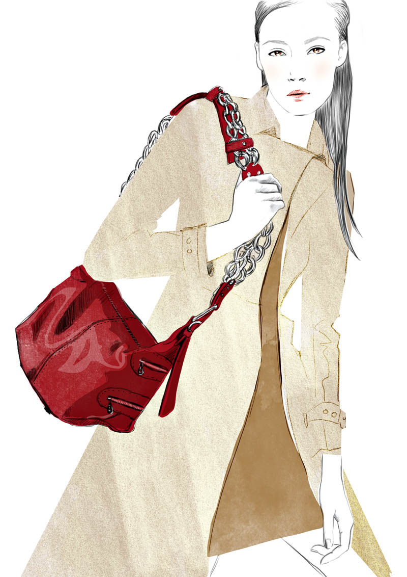 camera bag hr Sketches of Chloé Edition Anniversaire Collection