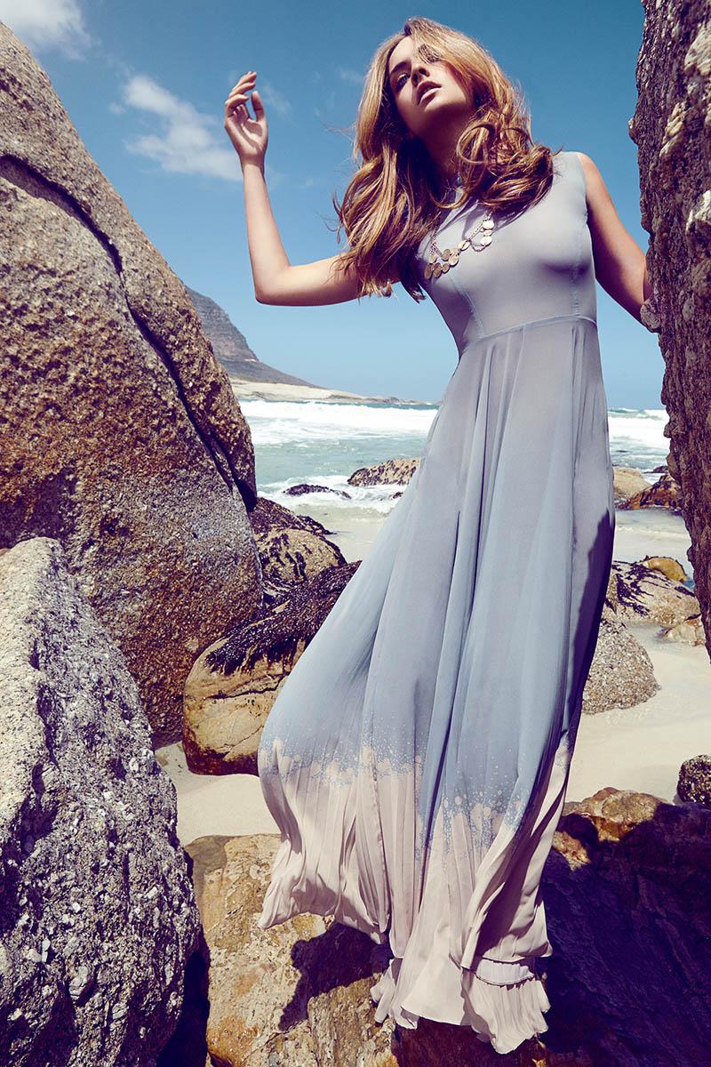 Olive Green Summer Dress