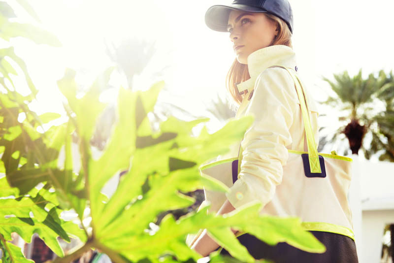 cara delevingne reserved campaign16 Cara Delevingne Heads to Miami for Reserveds Spring 2013 Campaign