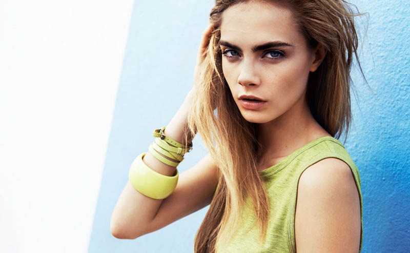 cara delevingne reserved campaign24 Cara Delevingne Heads to Miami for Reserveds Spring 2013 Campaign
