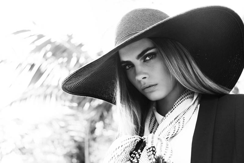 cara delevingne reserved campaign25 Cara Delevingne Heads to Miami for Reserveds Spring 2013 Campaign