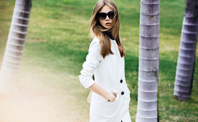 cara delevingne reserved campaign28 Cara Delevingne Heads to Miami for Reserveds Spring 2013 Campaign