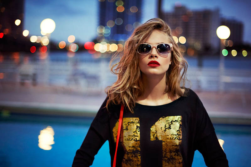 cara delevingne reserved campaign6 Cara Delevingne Heads to Miami for Reserveds Spring 2013 Campaign