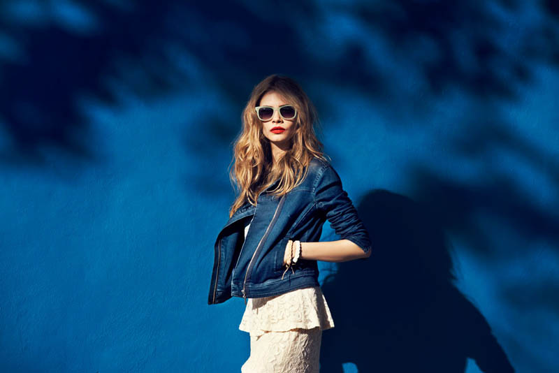 cara delevingne reserved campaign9 Cara Delevingne Heads to Miami for Reserveds Spring 2013 Campaign