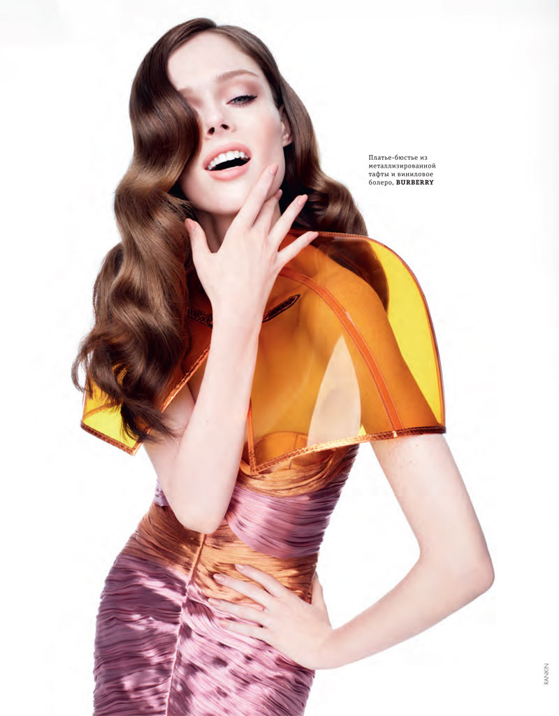 coco rocha elle ukraine rankin7 Coco Rocha Models Spring Trends for Elle Ukraines March Cover Shoot by Rankin