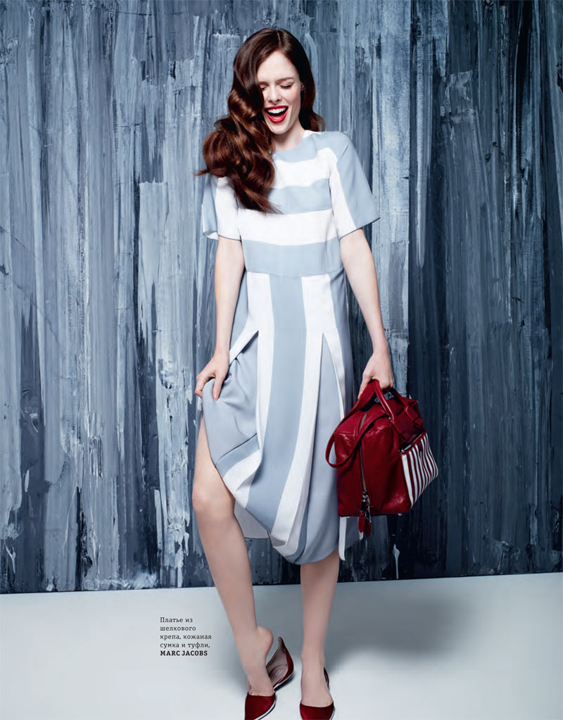 coco rocha elle ukraine rankin8 Coco Rocha Models Spring Trends for Elle Ukraines March Cover Shoot by Rankin