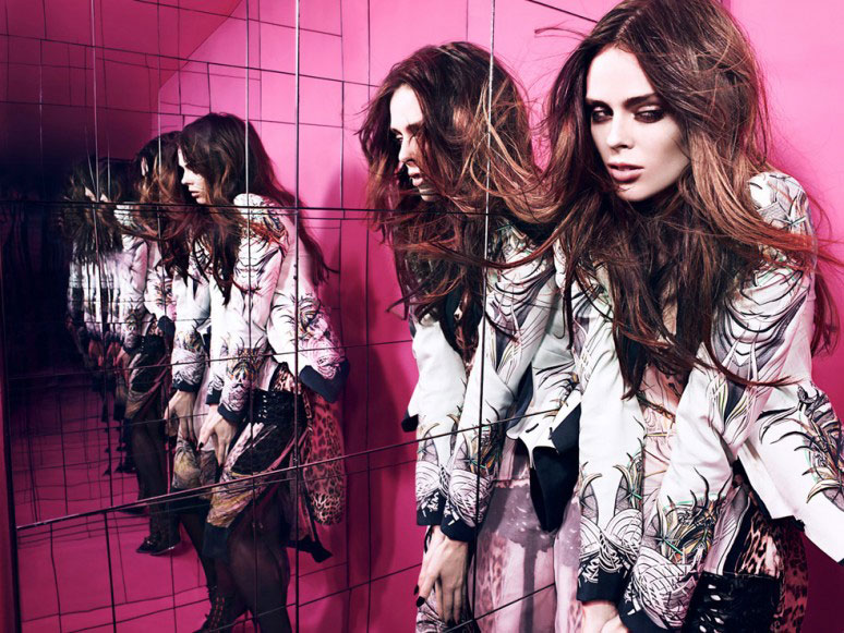 coco3 Coco Rocha Rocks Out for HUNGER Magazine in a Cavalli Fashion Film