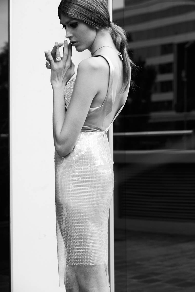 dafne cejas4 Dafne Cejas by Josefina Bietti in Black and White for Fashion Gone Rogue