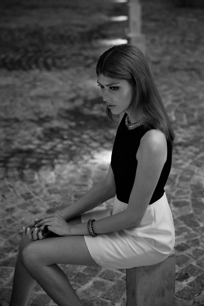 "Dafne Cejas by Josefina Bietti in ""Black and White"" for Fashion Gone Rogue"
