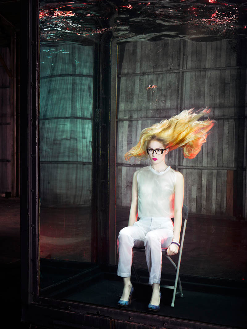 douglas friedman vogue italia12 Douglas Friedman Captures Underwater Style for Vogue Italia March 2013