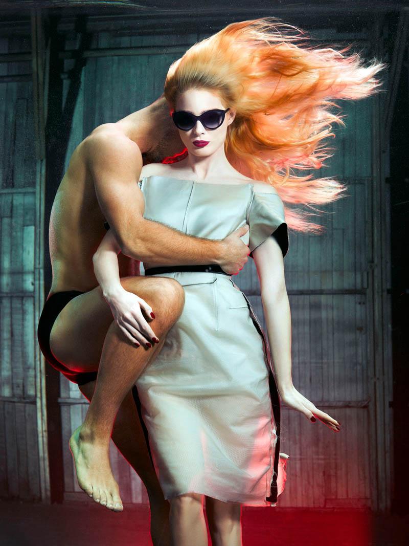 douglas friedman vogue italia5 Douglas Friedman Captures Underwater Style for Vogue Italia March 2013