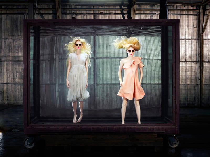 douglas friedman vogue italia6 Douglas Friedman Captures Underwater Style for Vogue Italia March 2013