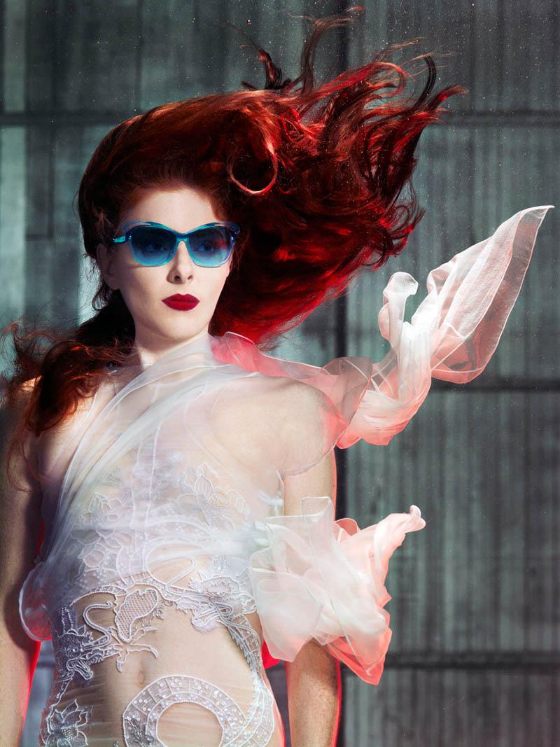 douglas friedman vogue italia7 Douglas Friedman Captures Underwater Style for Vogue Italia March 2013