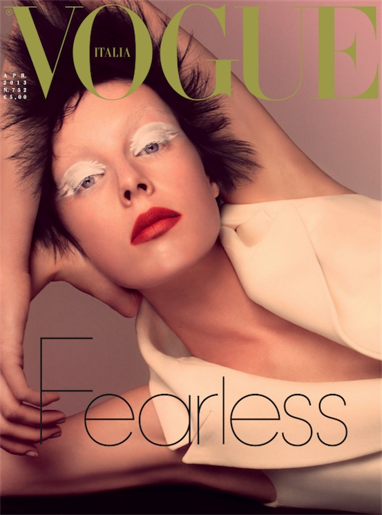 edie campbell vogue italia april COVERED: The April 2013 Covers of Fashion Magazines Revisited