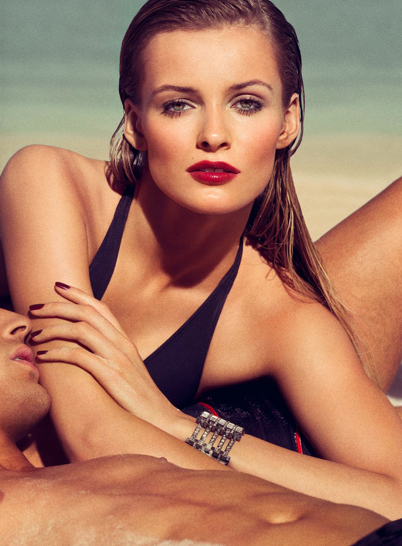 edita tom munro shoot3 Edita Vilkeviciute Sizzles on the Beach for Allures March Issue by Tom Munro