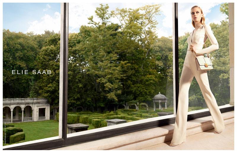 elie saab spring campaign Sigrid Agren Stars in Elie Saabs Spring 2013 Campaign by Glen Luchford