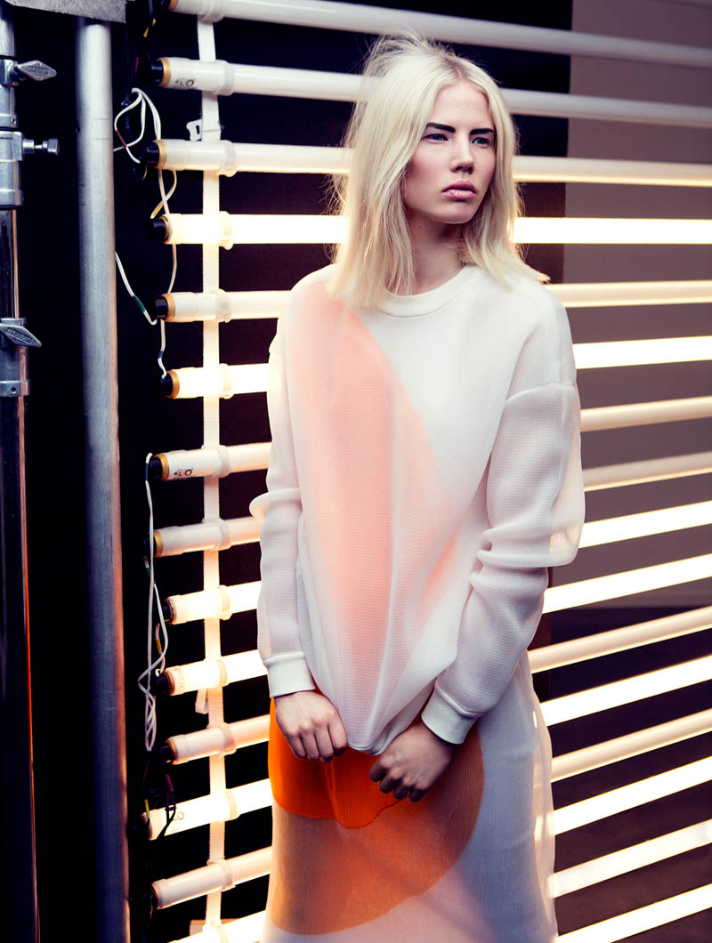 emilia plaza magazine3 Emilia Shines in Plaza Magazine by Fredrik Wannerstedt
