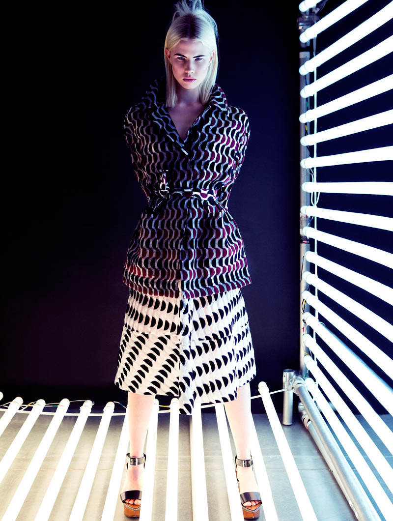 emilia plaza magazine8 Emilia Shines in Plaza Magazine by Fredrik Wannerstedt