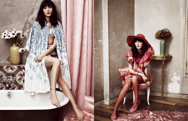 femina Irina 2 Irina Lazareanu Sports Romantic Style for Femina China