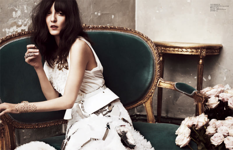 femina Irina 4 Irina Lazareanu Sports Romantic Style for Femina China