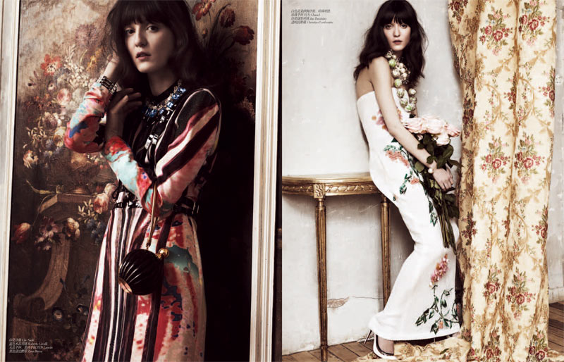 femina Irina 5 Irina Lazareanu Sports Romantic Style for Femina China