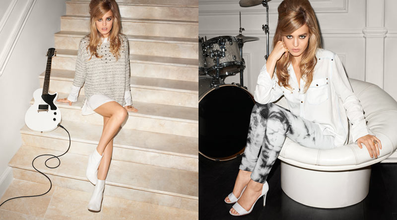 Georgia May Jagger Stars in H&M's Rock'n'Roll Mansion Campaign by Terry Richardson