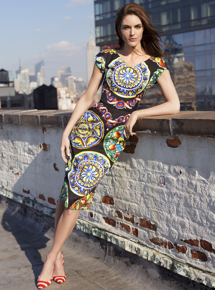 hilary rhoda bergdorf wmns21 Hilary Rhoda Has a New York State of Mind for Bergdorf Goodman Spring 2013