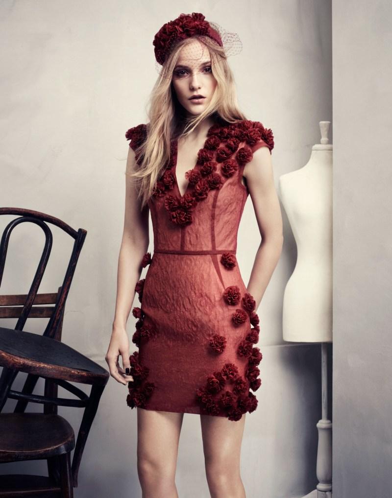 "Dorothea Barth Jorgensen Models H&M's ""Conscious Exclusive"" Collection"