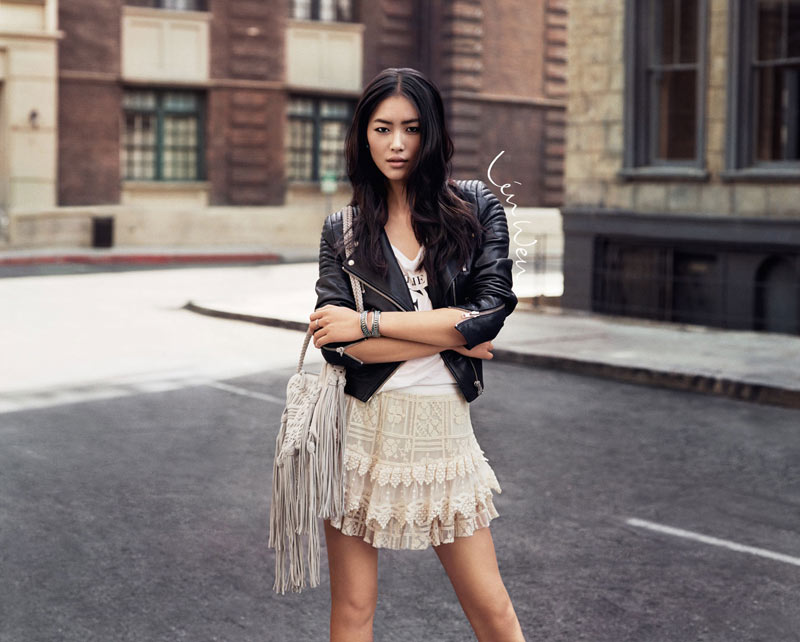 """Daphne Groeneveld, Liu Wen, Lindsey Wixson and Joan Smalls Tapped for H&M """"The New Icons"""" Collection"""