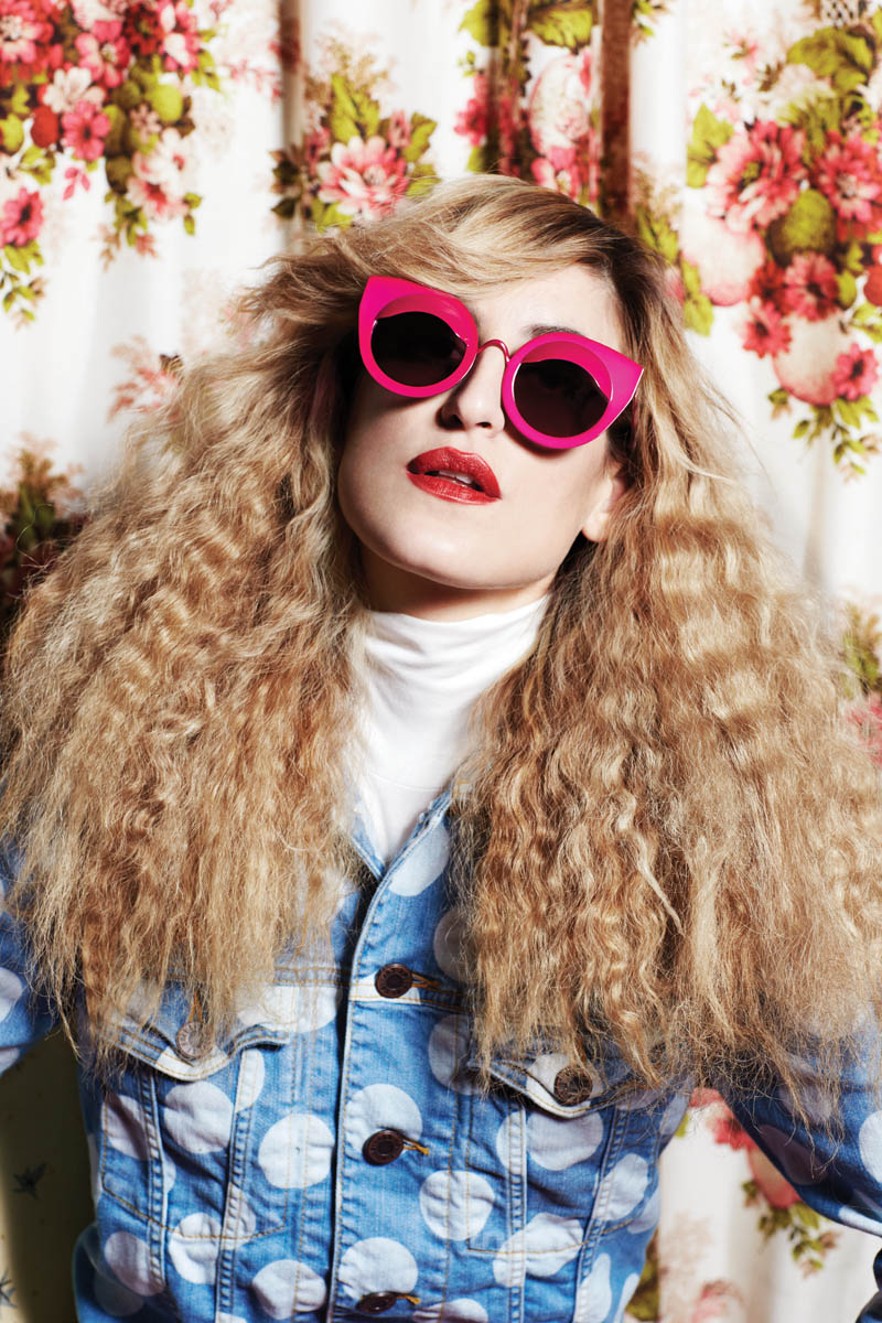 house of holland eyewear1 Ioanna Gika Stars in 70s Inspired, House of Holland Spring 2013 Eyewear Campaign