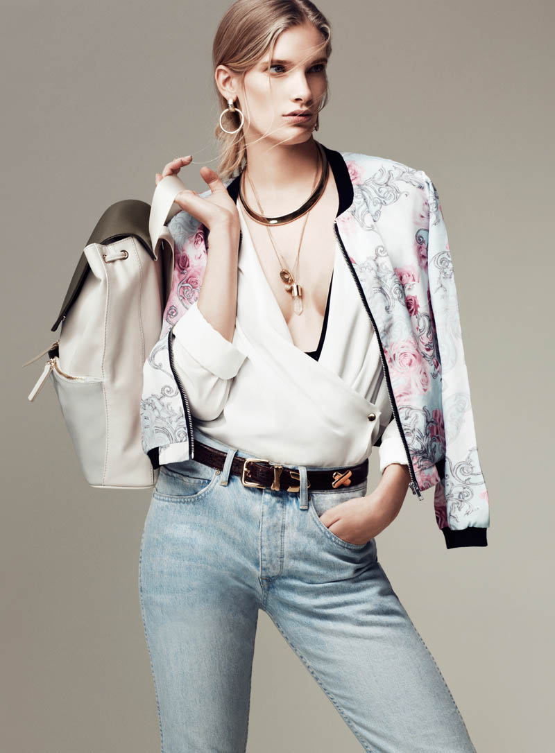 ilse de boer vogue turkey3 Ilse de Boer Rocks 90s Style for Vogue Turkey March 2013