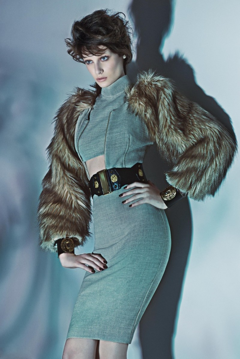 iodice fall campaign6 Thairine Garcia Seduces for Iodice Fall 2013 Campaign