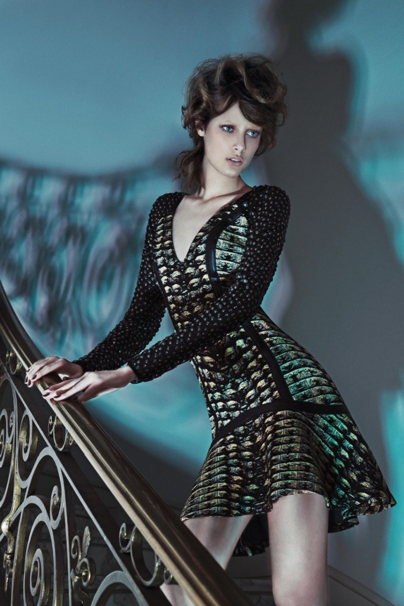 Thairine Garcia Seduces for Iodice Fall 2013 Campaign
